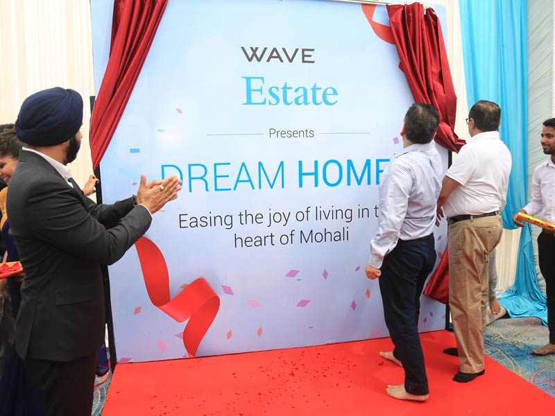 Bhoomi Pujan - Dream Homes - Wave Estate-5